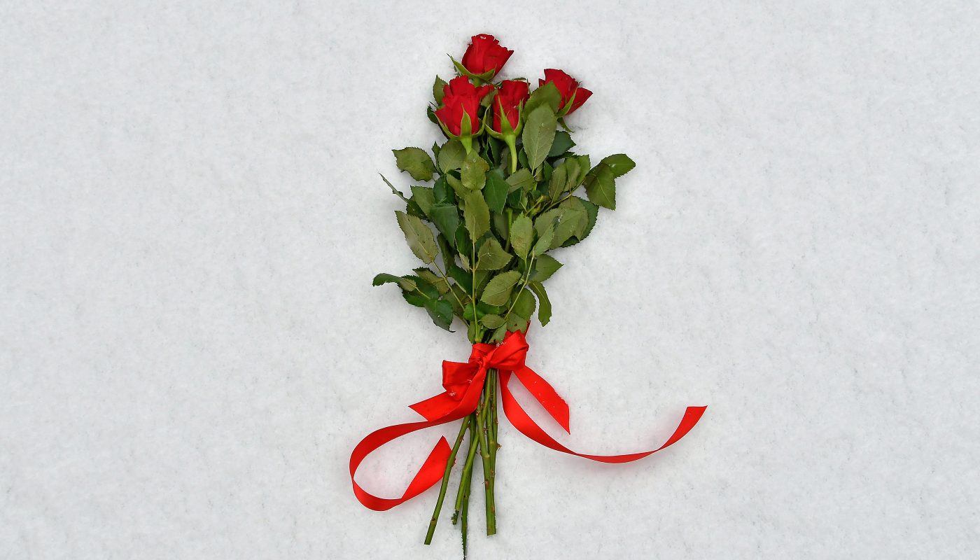 Tak Rugi Beri Sejambak Ros Merah Untuk Isteri Di Hari Istimewanya