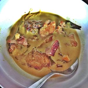 zaini salai house, masak lemak cili api daging salai
