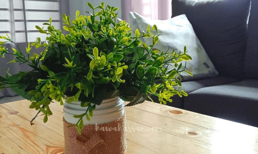 Buat Sendiri Pasu Bunga Comel Ala IKEA Guna Bekas Kopi