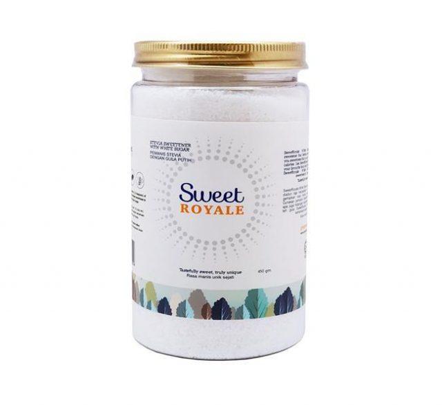 sweet royal stevia, kek coklat keto