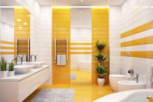 skema warna kuning