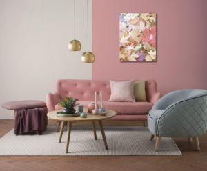 skema warna pink
