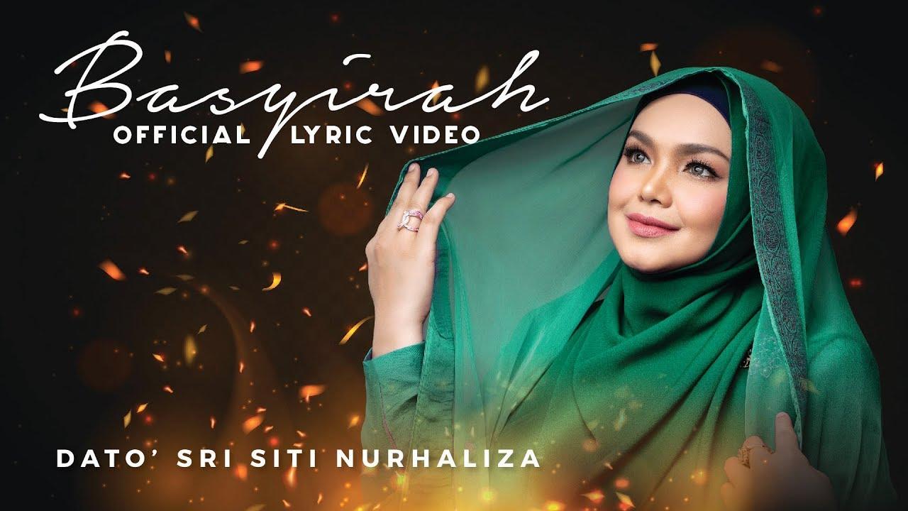 COVID-19 : Lirik Lagu 'Basyirah' Nyanyian Dato' Sri Siti Nurhaliza Begitu Menyentuh Hati
