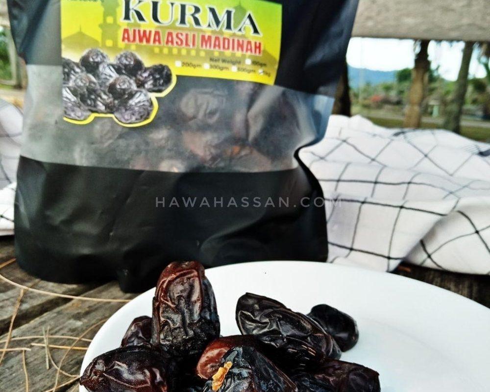 15 Fakta Menarik Tentang Kurma Ajwa Asli Madinah VIP Gred Premium Dari Rihura Herbs Enterprise