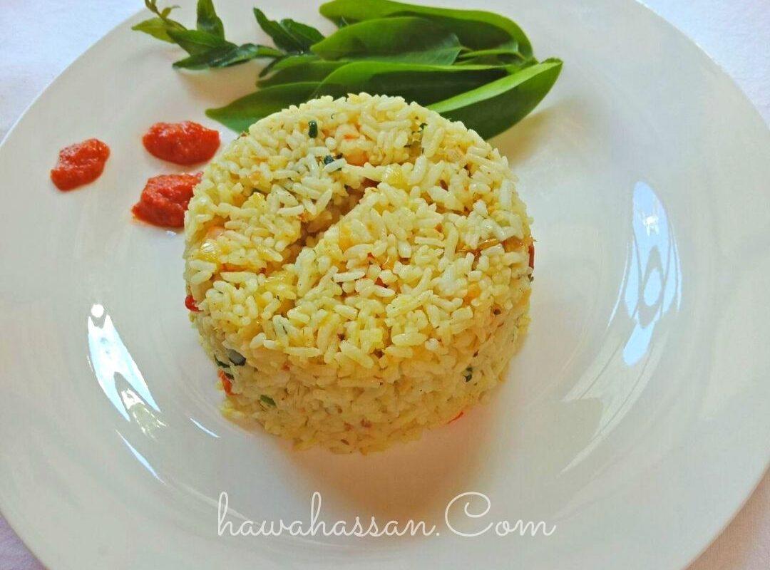 Mudahnya Masak Nasi Goreng Ikan Rebus Terengganu