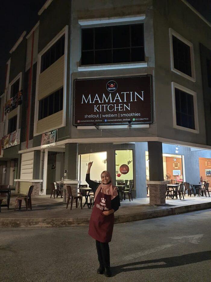 Mamatin Kitchen,shell out kemaman, kedai makan popular kemaman
