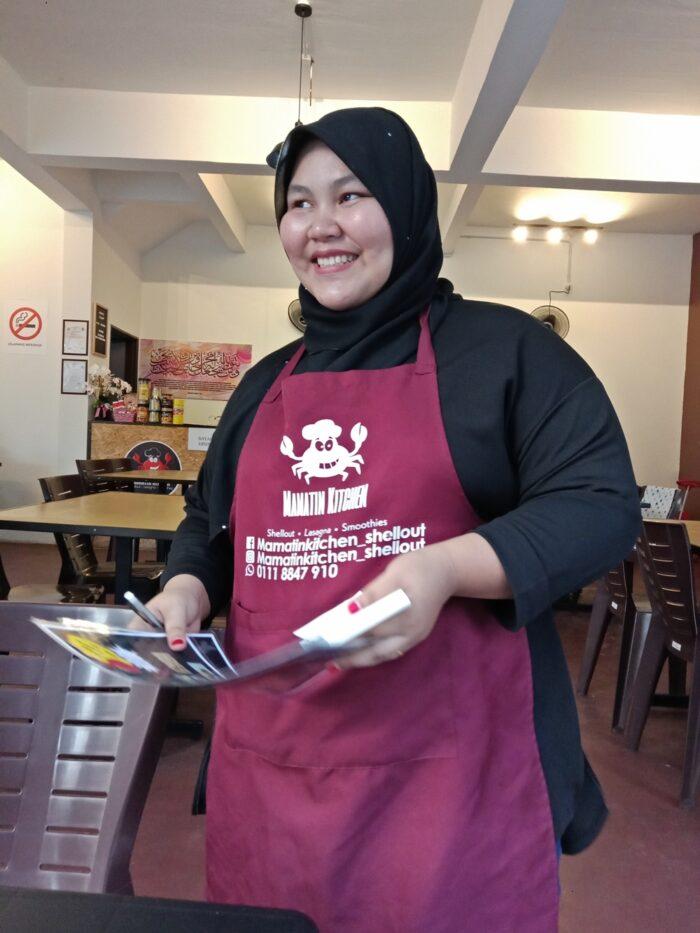 mamatin kitchen, shell out kemaman, kedai makan popular kemaman